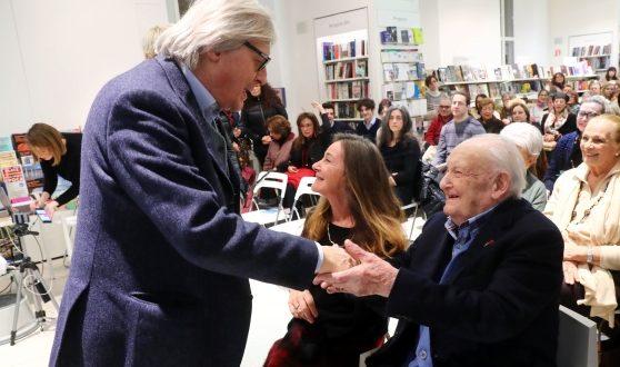 Vittorio Sgarbi con suo padre Nino