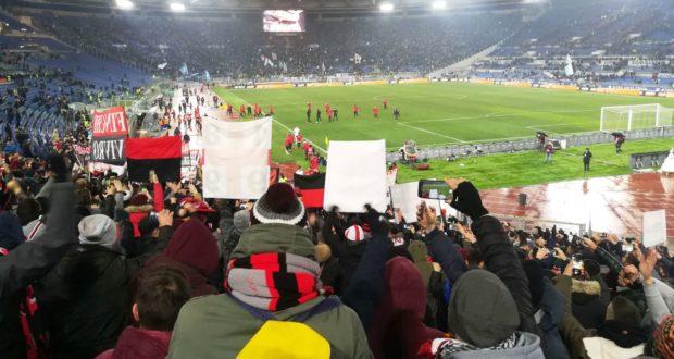 Lo stadio Olimpico per Lazio-MIlan