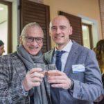 Il dottor Bonifazi assieme al primario del reparto di Odontostomatologia chirurgica dell'ospedale Torrette, Vittorio Zavaglia