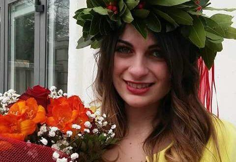 Valentina Pronesti, neodottoressa in Mediazione linguistica