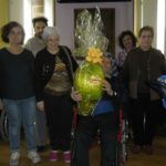 L'uovo pasquale donato agli ospiti della Casa di riposo