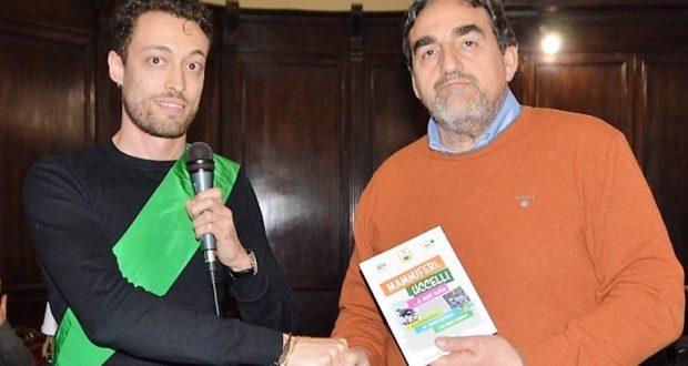 Il presidente Matteo Cicconi e il Dirigente scolastico Sandro Luciani