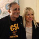 Roberto Vecchioni e il sindaco Rosa Piermattei