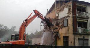 Conclusi i lavori di demolizione in viale Europa