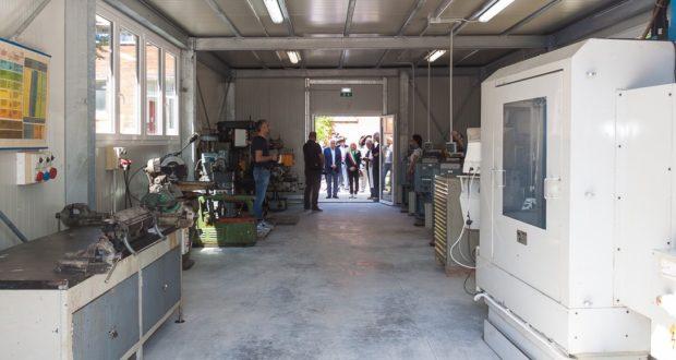 Il container - laboratorio per Meccanica