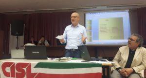 Marco Ferracuti, segretario generale della Cisl Marche
