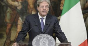 Il presidente del Consiglio, Paolo Gentiloni