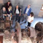 """Vignati e Francucci fanno da """"Cicerone"""" all'interno del Museo"""
