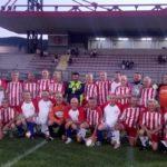 Amarcord a Città di Castello: Sfrappini è il terzo (da sinistra) fra i giocatori accosciati