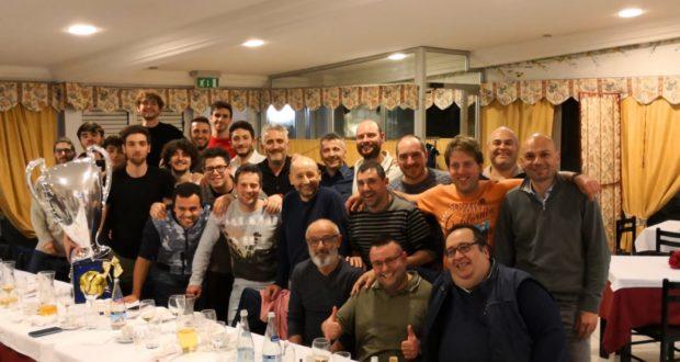 Il gruppo del calcetto targato Polisportiva Serralta
