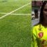 Serena Ventura in campo con la maglia della Jesina