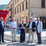 L'inaugurazione alla rotatoria dellìAvis