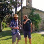 Jovanotti e Marcorè a Villa Teloni