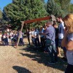 La cerimonia al rione Settempeda in ricordo di Andrea