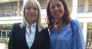 Il sindaco Rosa Piermattei assieme all'on. Barbara Saltamartini