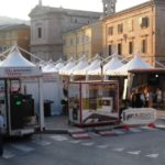 Espositori in piazza