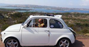 Fiat 500 in Costa Smeralda