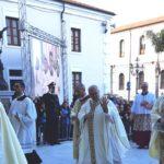 L'ingresso in cattedrale di mons. Francesco Massara
