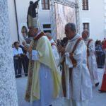 L'arrivo del cardinale Edoardo Menichelli