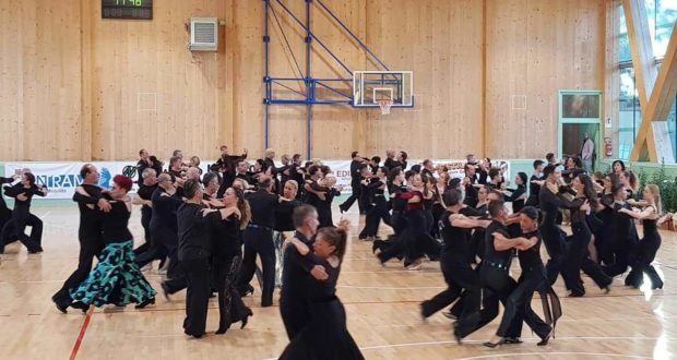 Ballerini in azione a San Severino