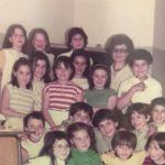 La 1^A mista del 1978 con la maestra Lambertucci