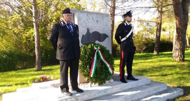 Cerimonia al Monumento del rione Settempeda