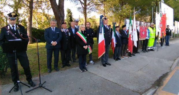 L'intervento del maresciallo dei Carabinieri, Massimo Lucarelli