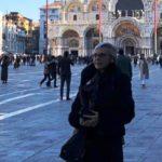 Giovanna Massi a Venezia prima della premiazione