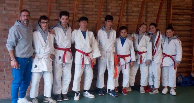 I ragazzi con il maestro Boris Giachetta