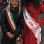 Il sindaco con Miss Italia 2018