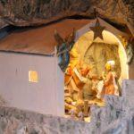 Il presepe che raffigura la grotta di Santa Sperandia