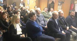 Amministratori e cittadini presenti al primo incontro a San Severino