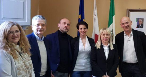 L'incontro istituzionale in municipio