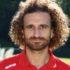 Il difensore Galuppa, autore del primo gol