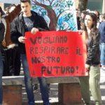 Studenti Itis al flash mob