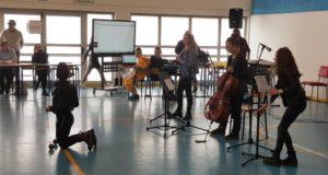 Musiciste in palestra