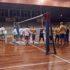 Squadre in campo al Palas di San Severino