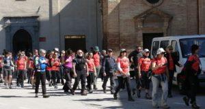 Il gruppo in partenza da San Domenico