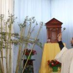La benedizione delle croci di canne