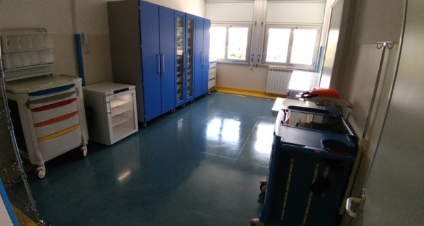Un altro ambiente del nuovo reparto