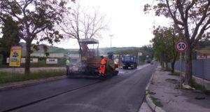 Lavori in via Merloni, a Taccoli