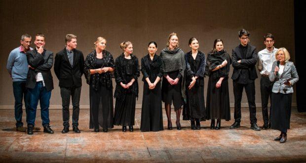 I protagonisti dello spettacolo (foto di Mirko Scoccia)