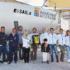 Imbarcazione e protagonisti dell'Europeo in visita alla Olicor