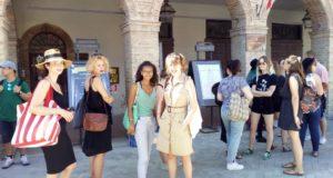 Alcune delle partecipanti al Festival