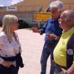 Il sindaco con Rustichelli e Salvucci