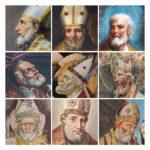 Mosaico di volti di San Severino