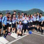 Gruppo scout impegnato a Camerino per la visita del Papa
