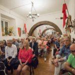 Sede dell'associazione Palio molto affollata per la presentazione del libro di Luca Maria Cristini