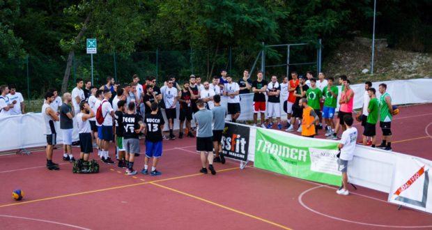 """Protagonisti del """"3x3"""" di basket"""