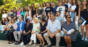 La cerimonia per i 70 diplomati con lode